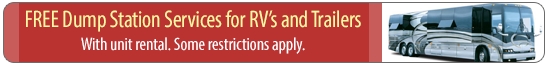 Free Dump Station Services for RVs and Trailers