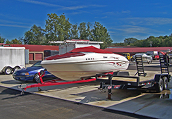 Paved Outside Storage for Boats, Trailers, Cars and More!